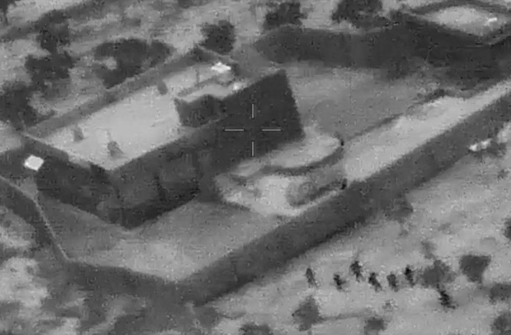 Divulgan imágenes del ataque que terminó con la vida del líder del Estado Islámico