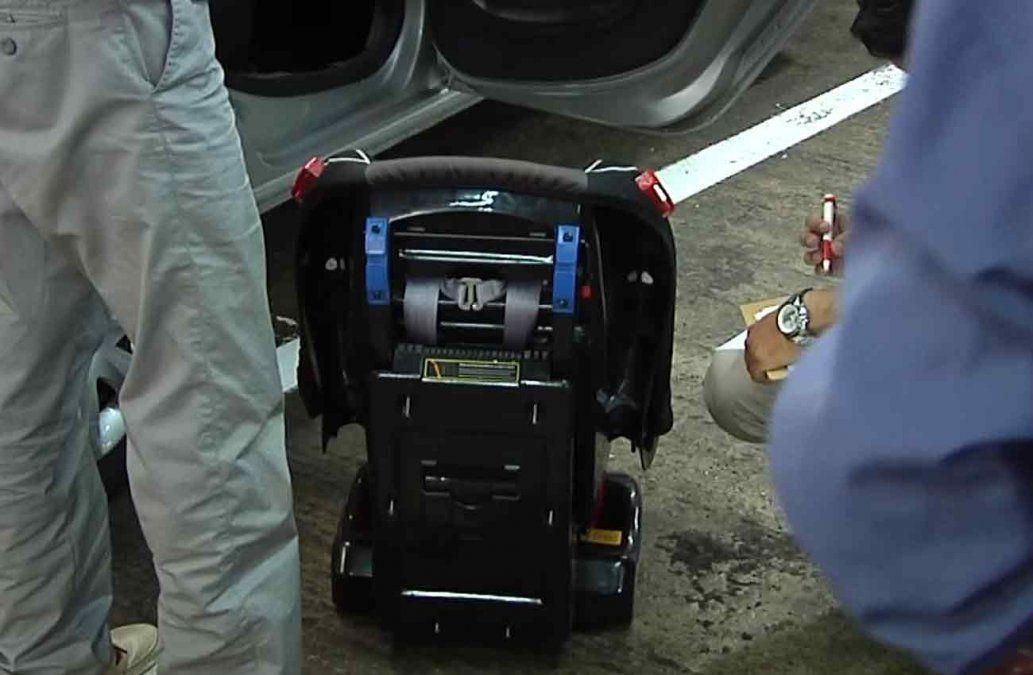 Inspectores comenzarán este viernes a multar vehículos sin sillitas infantiles
