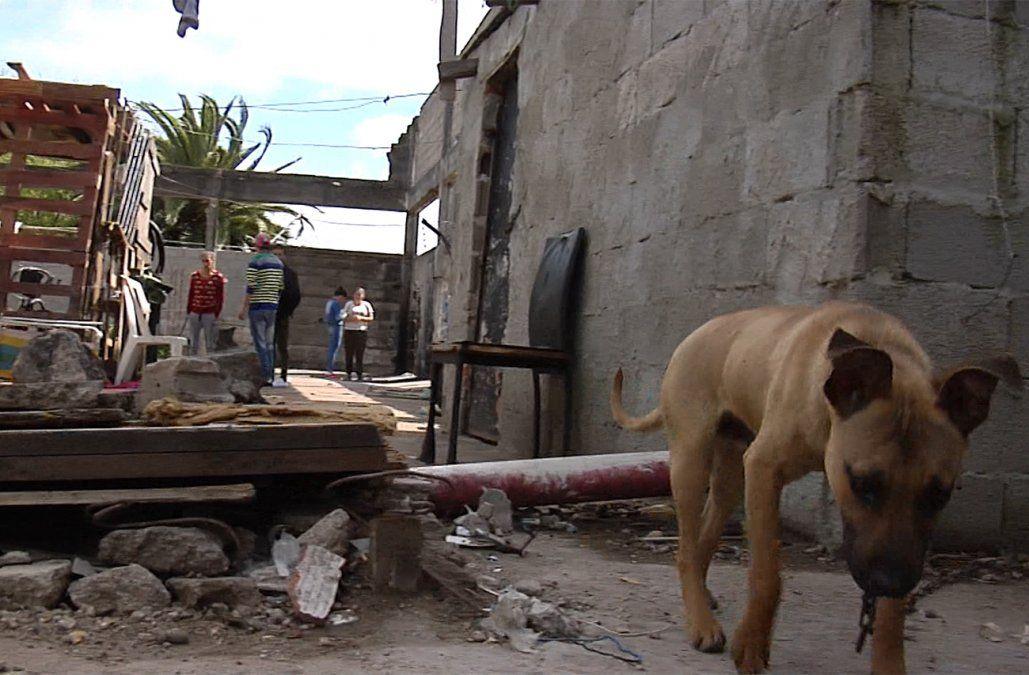 Unas 100 personas viven en una fábrica abandonada con peligro de derrumbe