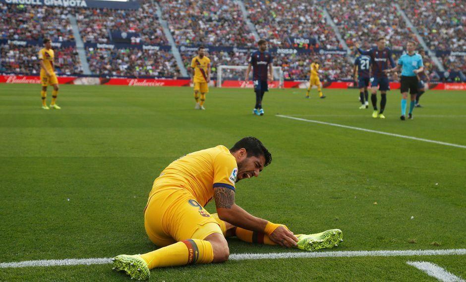 Ni Suárez ni Stuani: las lesiones musculares ocurridas en España le quitan gol a la selección uruguaya