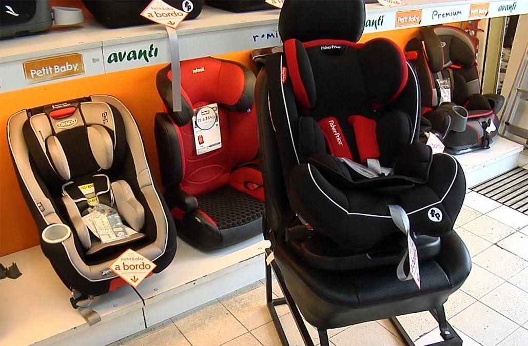 Uso obligatorio disparó ventas de silllitas y sistema de retención infantil