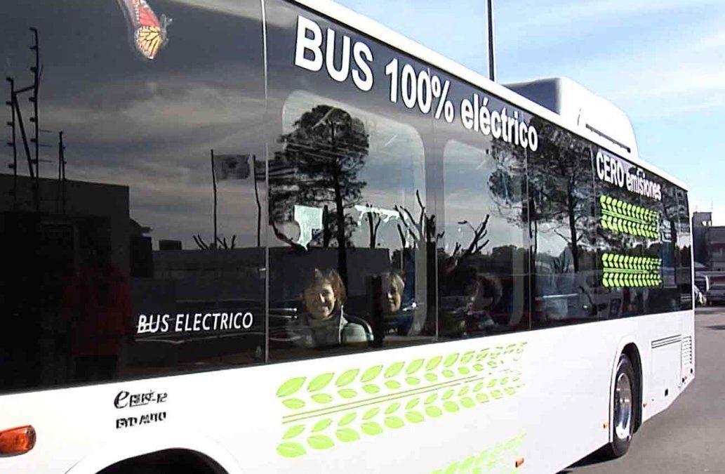 Poder Ejecutivo subsidia compra de ómnibus eléctricos al mismo precio que el diesel