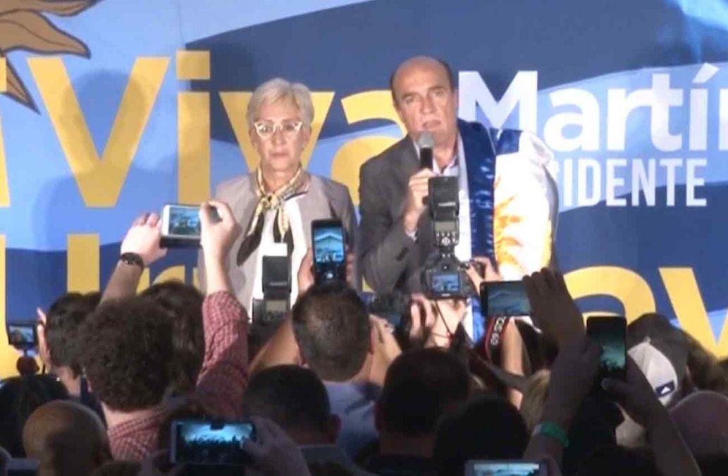 Martínez y Lacalle Pou recibieron a César Vega y elogiaron sus propuestas