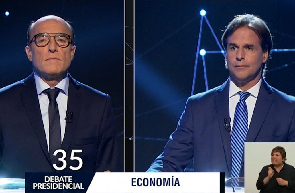Debate obligatorio entre Martínez y Lacalle Pou será el miércoles 13