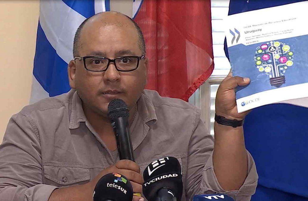 Sindicato de profesores rechaza acuerdo sobre educación propuesto por Lacalle Pou