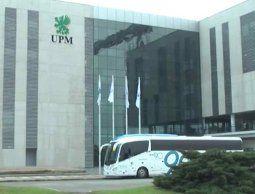 altText(Lacalle Pou se reunió con el CEO de UPM y le transmitió seguridad jurídica)}