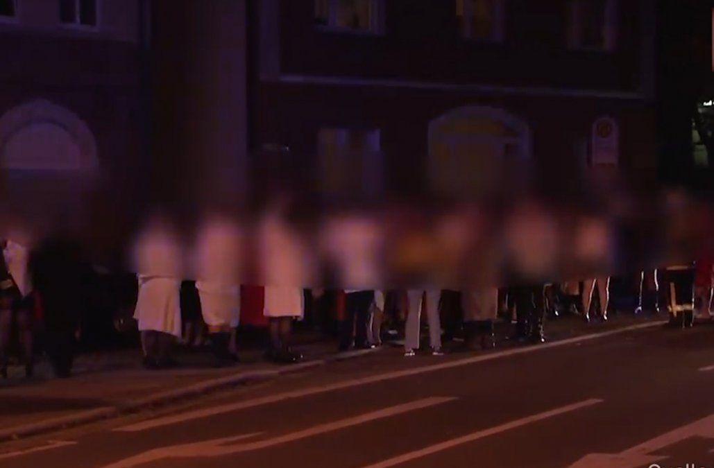 Más de 300 personas desalojadas de un club swinger por escape de gas en el edificio
