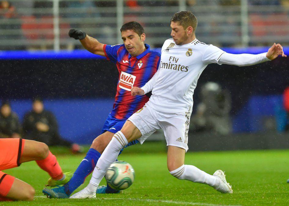 Valverde se estrenó como goleador en el Real Madrid
