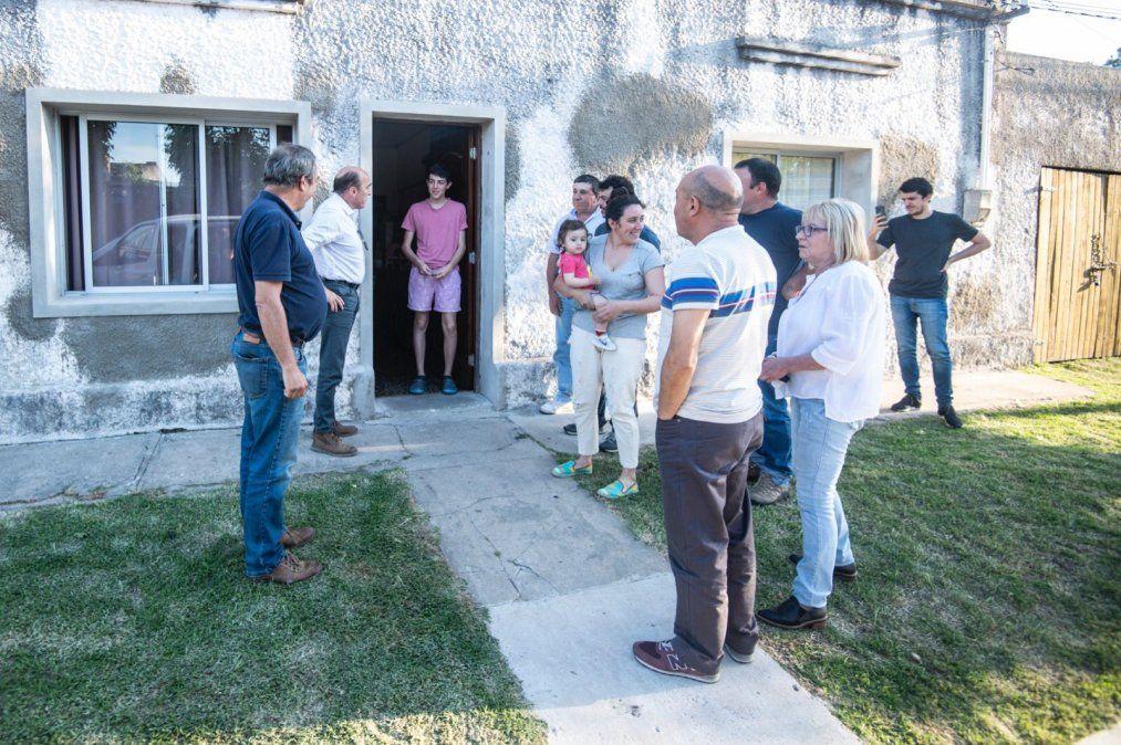 Daniel Martínez recorre el norte y oeste del país con su campaña Voto a voto