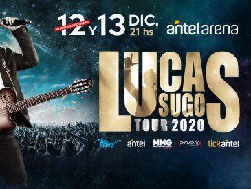 Lucas Sugo presenta su nuevo Show #Tour2020 en el Antel Arena
