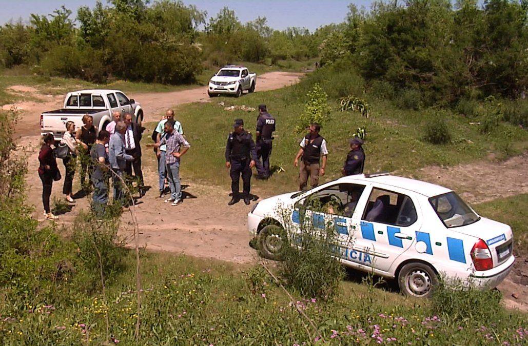 Amplían el área de búsqueda de los restos de Viviana Ramos en el Santa Lucía