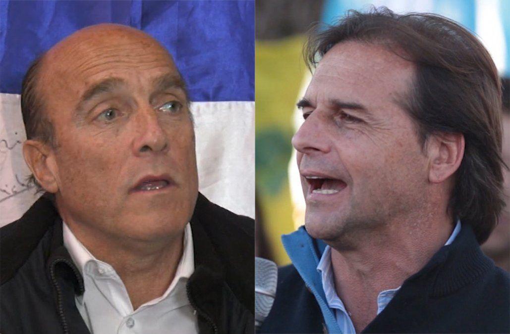 Encuesta de Opción: Luis Lacalle Pou 47%, Daniel Martínez 42%
