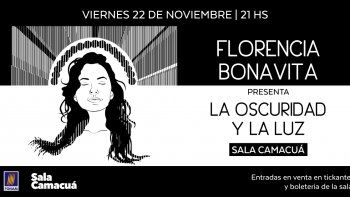 Florencia Bonavita presenta su primer disco en Sala Camacuá