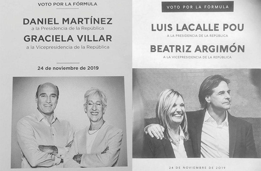 Lacalle Pou 49.6% y Daniel Martínez 42.5%, según encuesta de Radar