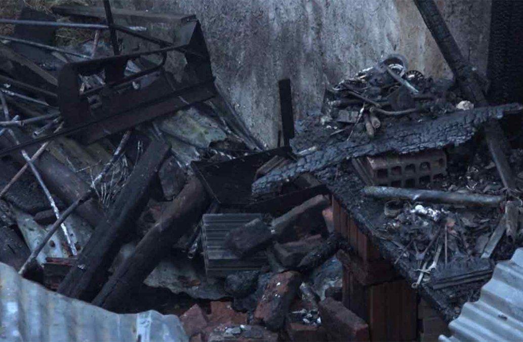Incendio en La Capuera tras incidente protagonizado por una pareja; el hombre falleció