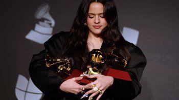 Rosalía arrasó en los premios Grammy Latinos de 2019