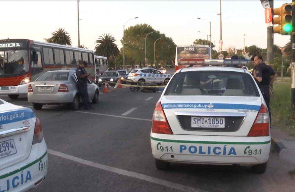 Motociclista falleció tras ser embestido por un ómnibus en Colón