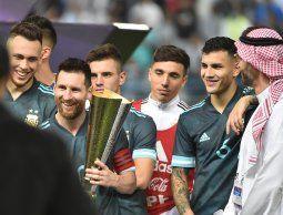Un gol de Leo Messi le dio la victoria a Argentina en el amistoso contra Brasil
