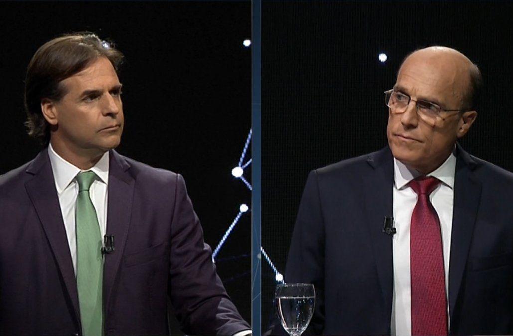 Lacalle Pou 51% y Martínez 43%, según Factum