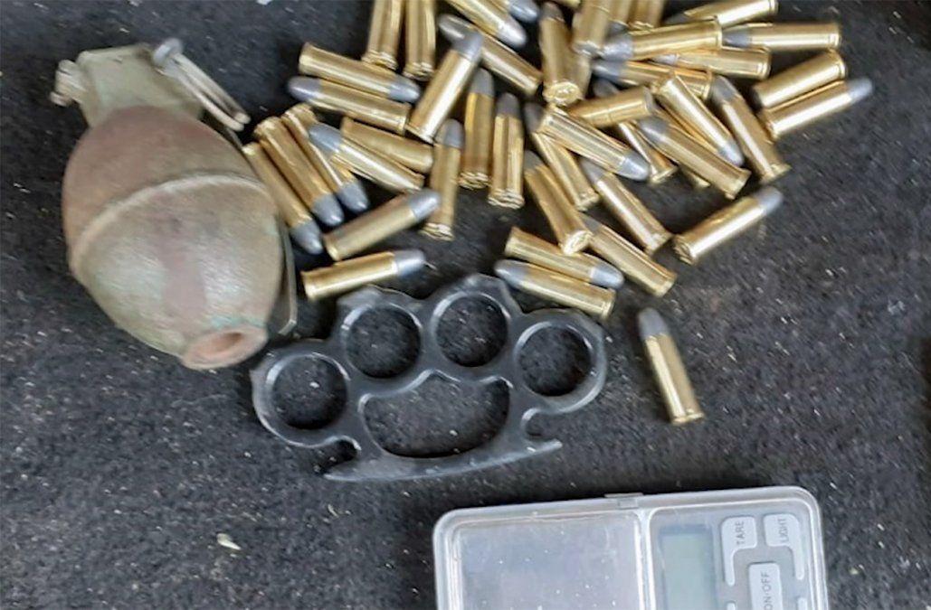 Adolescente detenido con granada fue internado en INAU
