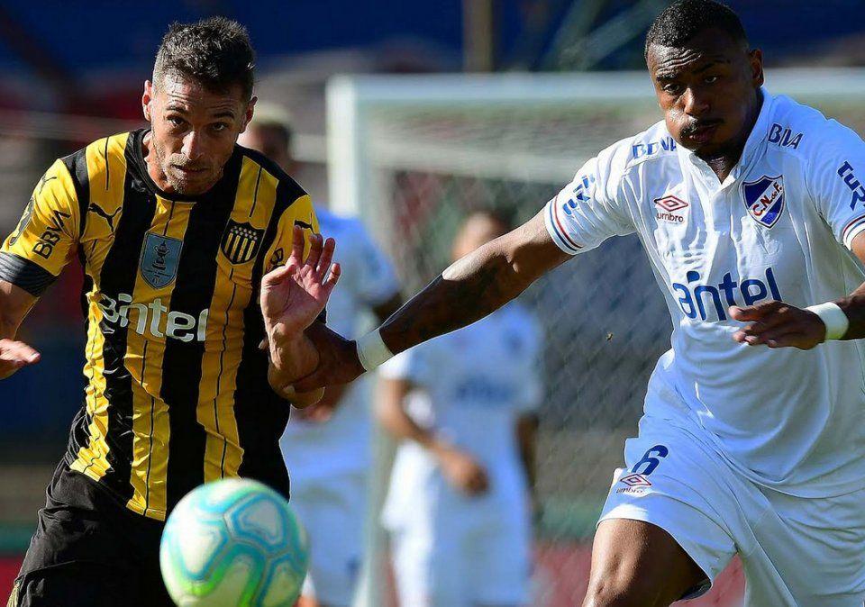 Nacional y Peñarol empataron en la 12 fecha del Torneo Clausura