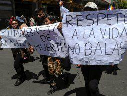 Uruguay reclama a Bolivia evitar la represión y que el Ejército no cumpla tareas policiales