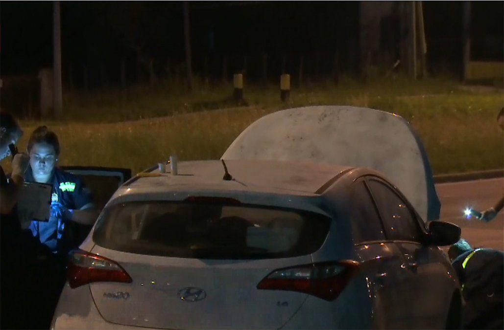 Detuvieron a uno de los presuntos asaltantes al BROU de Punta de Rieles