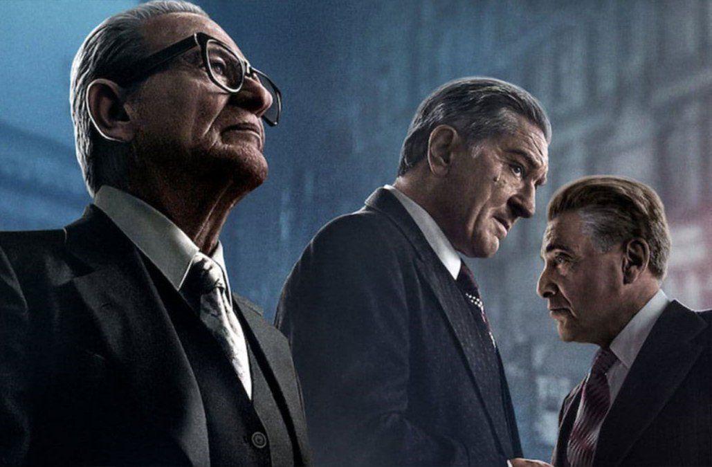 El Irlandés de Martin Scorsese en Cinemateca, no en salas comerciales