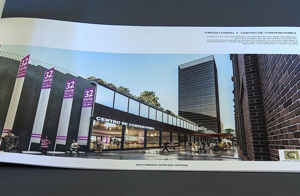 Se presentaron 11 propuestas para recuperar la vieja Estación Central de AFE
