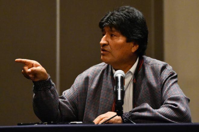 Evo Morales está convencido que sobrevivió a un atentado criminal antes de exiliarse