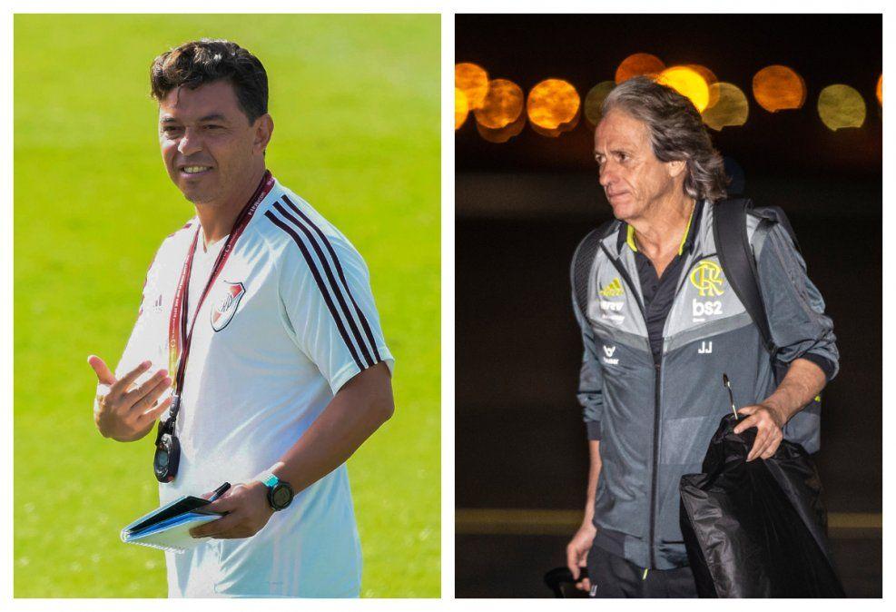 Marcelo Gallardo y Jorge Jesús tendrán su duelo táctico. Ambos cuentan con planteles excelentes.
