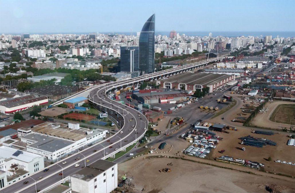 Desde el martes la rambla portuaria estará cerrada por obras del Ferrocarril Central