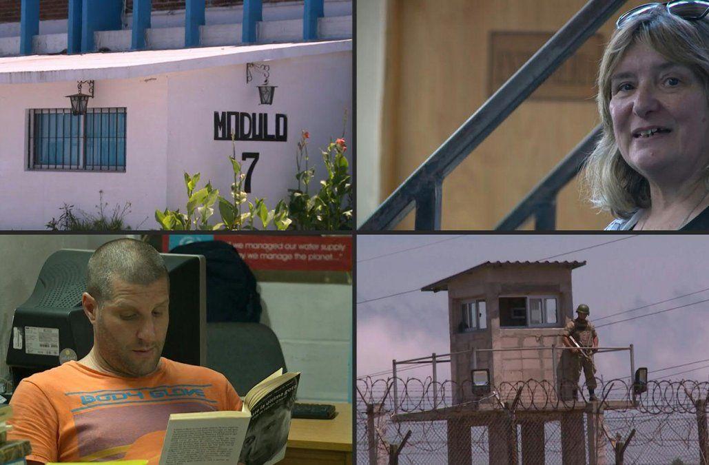 Graciela Barrera y su trabajo con los reclusos en un reportaje de la AFP