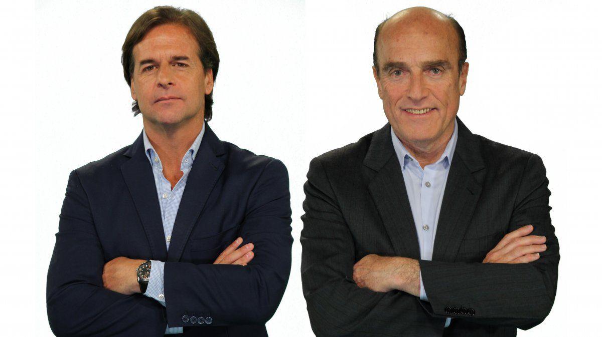 Lacalle Pou le lleva 28.666 votos de ventaja a Martínez