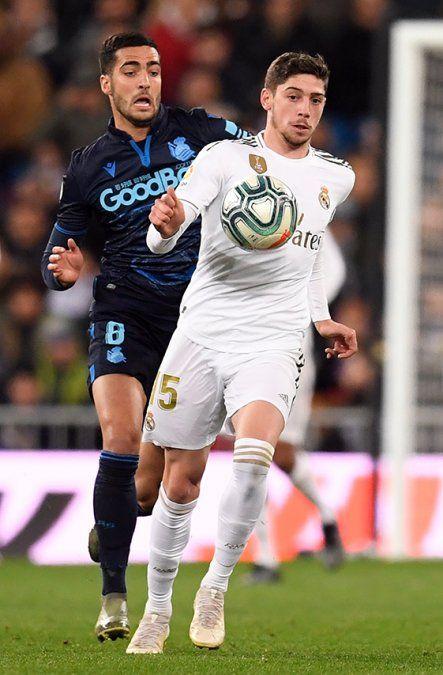 Valverde, Maxi Gómez y Luis Suárez dejan en alto la camiseta celeste en La Liga de las Estrellas