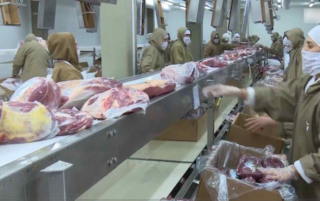 Exportación de carne aumentó 7,3% entre enero y noviembre en 2019