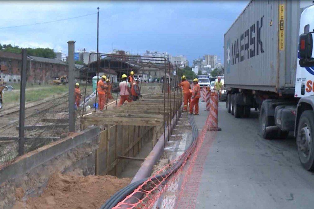 Cerrarán parte de la rambla portuaria por construcción de viaducto