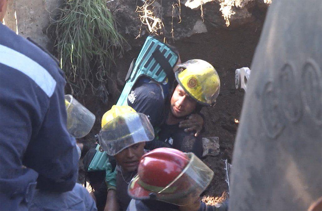Fiscalía investiga si obrero de OSE atrapado contaba con elementos de seguridad