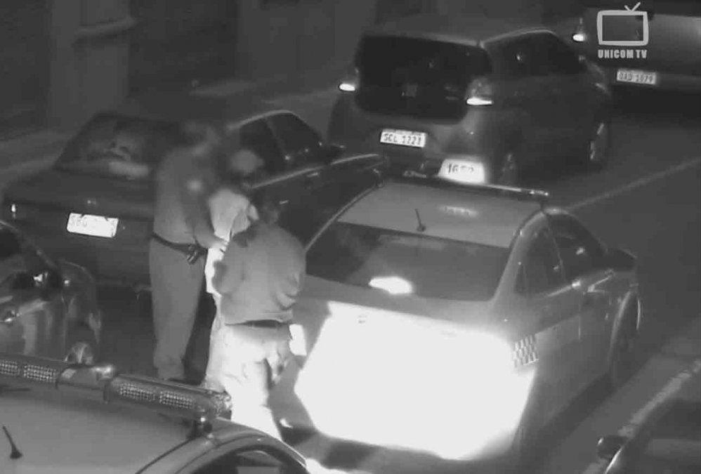 Imputaron a dos rapiñeros que fueron captados en las cámaras de vigilancia de la Policía
