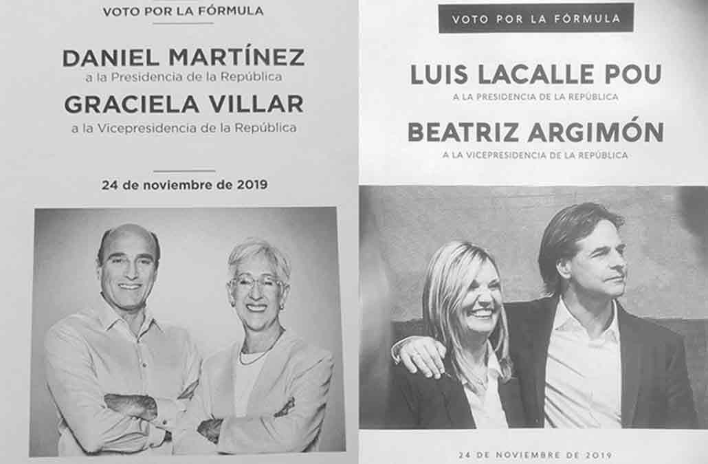 Finalizado el escrutinio la Corte anunció que Luis Lacalle Pou ganó por 37.042 votos