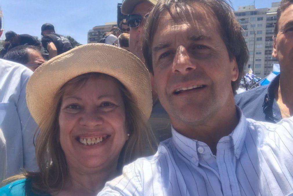 Familiares y dirigentes del Partido Nacional asistieron al velatorio de la diputada Arrieta