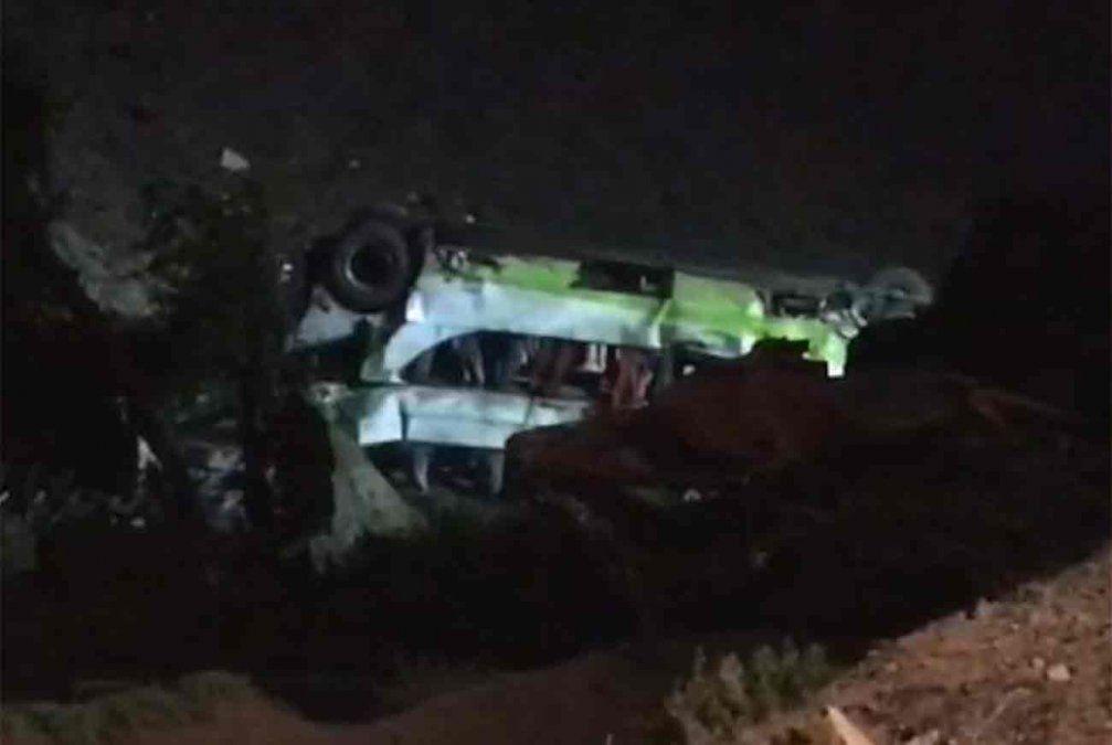 Al menos 17 muertos tras volcar un ómnibus en el norte de Chile