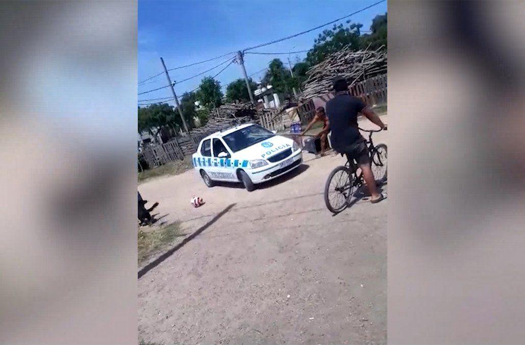 Dos meses de cárcel para el hombre que atacó con palos y piedras a un patrullero