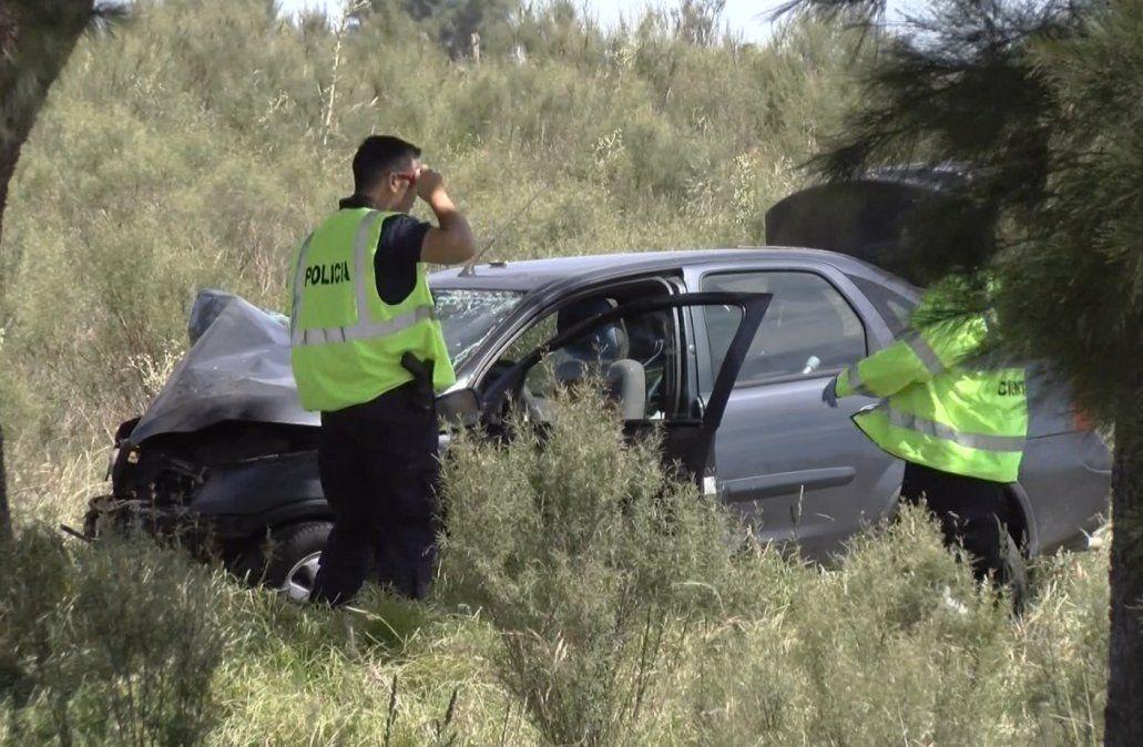 Un hombre mayor falleció en un accidente de transito en el departamento de San José.