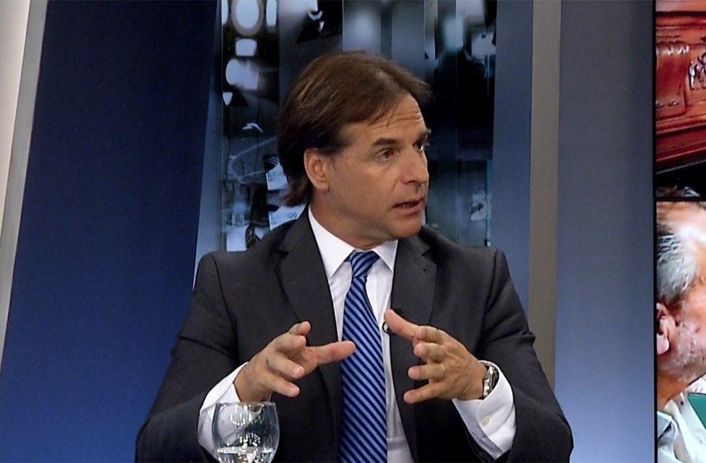 Lacalle anunció que su gobierno deberá realizar un ahorro de 1.300 millones de dólares
