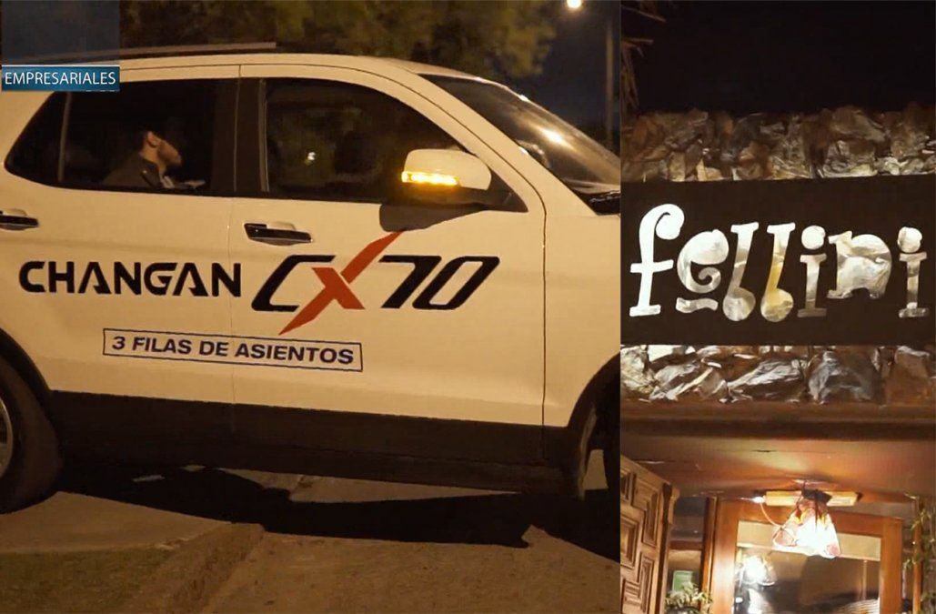 Fellini y OHM Club sellaron una alianza con la marca de vehículos Changan