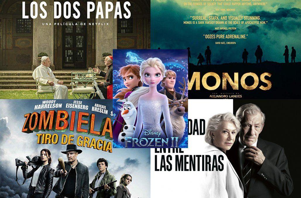 Los estrenos de cine recomendados por Jackie