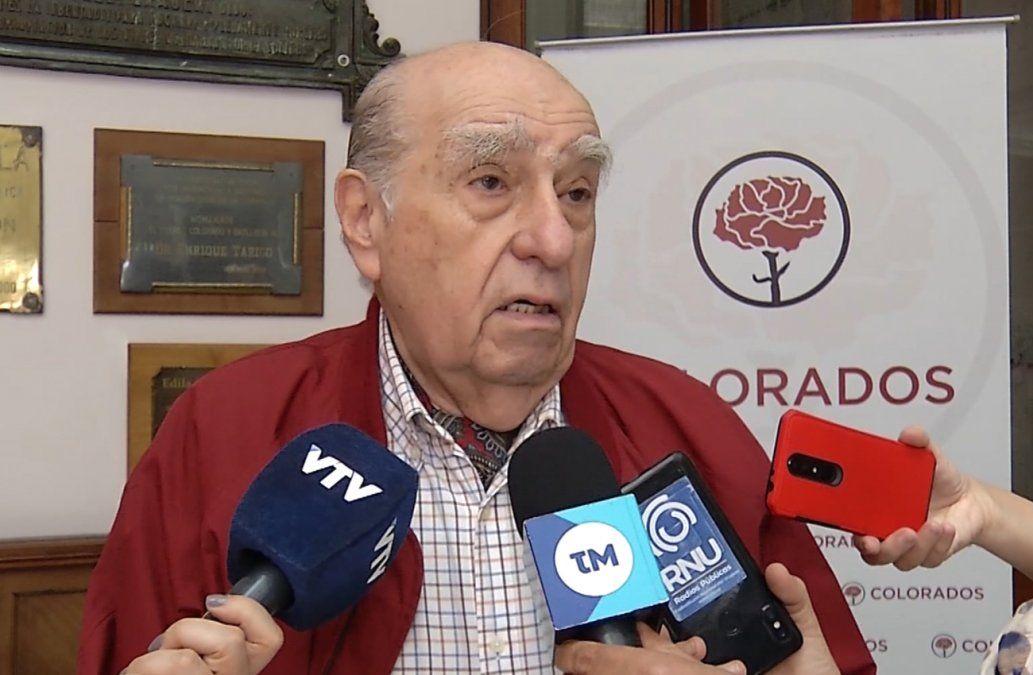 Julio María Sanguinetti será secretario general del Partido Colorado