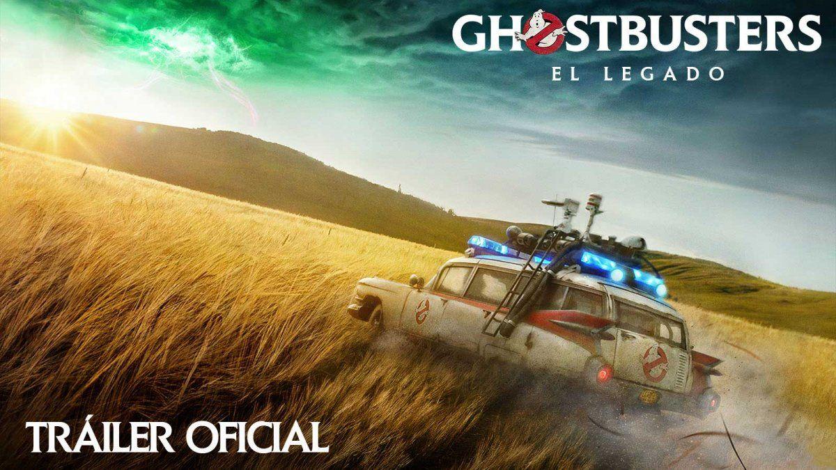 Mirá el nuevo tráiler de #Ghostbusters: El Legado, que se estrenará en 2020