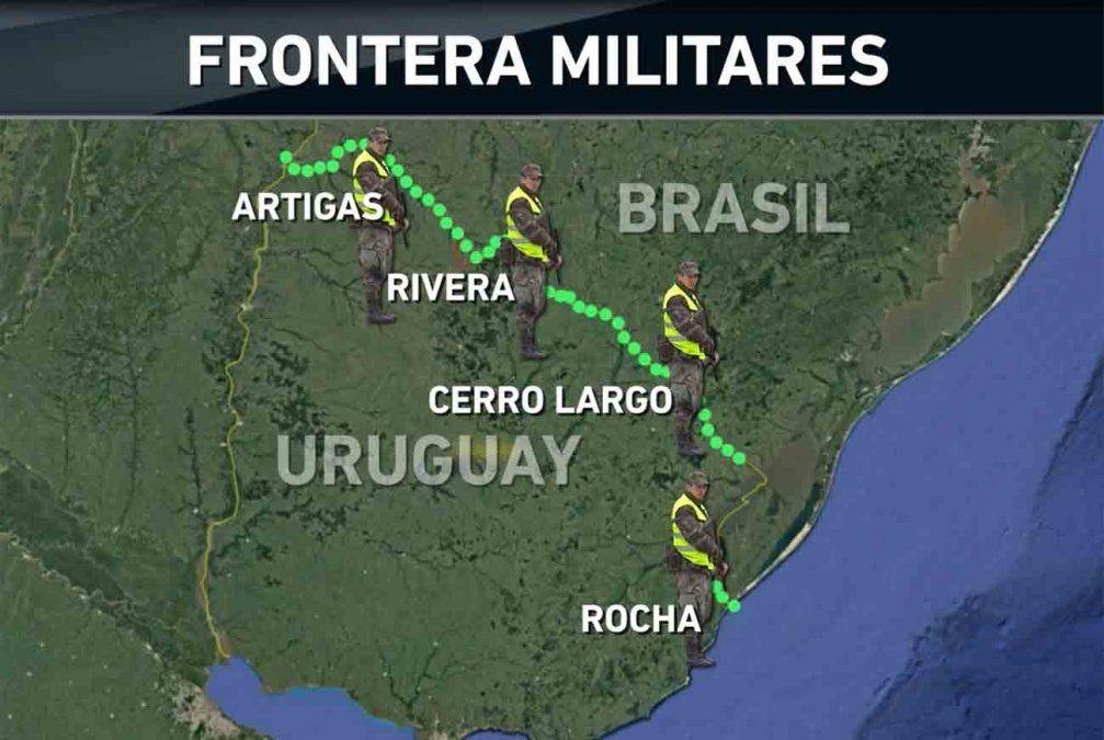 Gobierno reglamentó la ley que regula el patrullaje de militares en la frontera